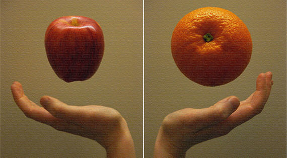 apple-orange